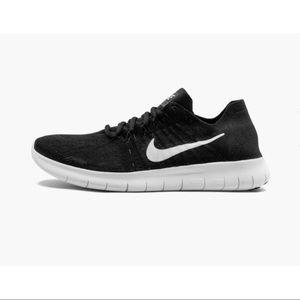 Nike Free RN Flyknit 2017 Black/White Sneakers